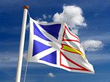 Newfoundland flag Canada