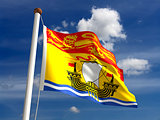 New Brunswick flag Canada