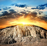 Scenic rock