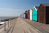 Sea front at Felixstowe, Suffolk, England