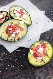 Delicious Grilled Avocados