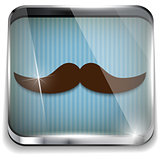 Happy Father Day Mustache Gift