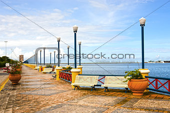 waterfront promenade recife