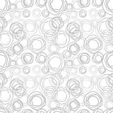 Seamless vector texture - gray rings