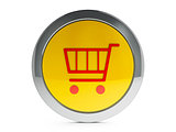 Shopping cart icon with highlight
