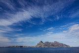 Rocky island in Norway