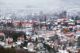 Ilsenburg city in Harz mountains