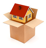 Packing or unpacking a house