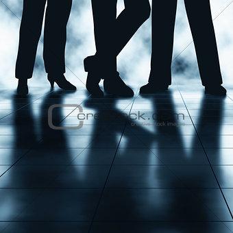 Business feet