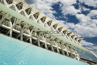 City of art and science museum in Valencia. Spain