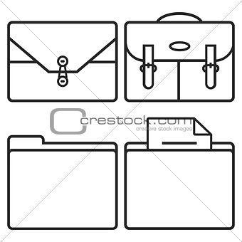 Cases and folders
