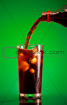 Pouring Cola
