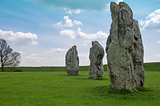 Standing stones at Avebury, Endland