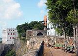 SJ - Old city wall Castillo San Felipe del Morro