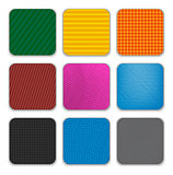Colorful app icon templates background