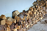 Logs for the wood burner