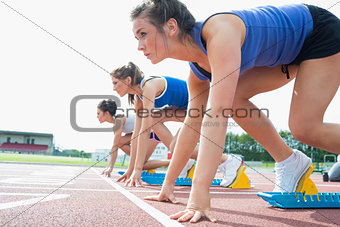 Women ready to race