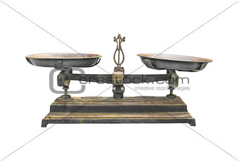 Antique iron scale