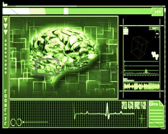 Green brain interface technology