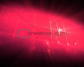 Pink grid ECG