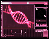 Pink DNA Helix technology