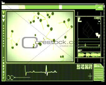 Green DNA cells