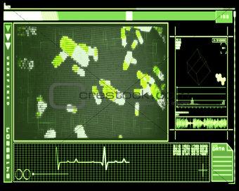 Green pixel pills technology