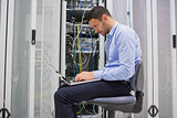 Man trying to find a solution for servers