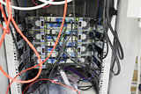 Interior of server