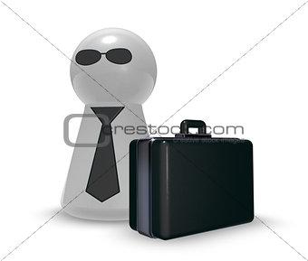 agent with case
