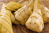 Ketupat Malay food.