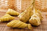 Ketupat or rice dumpling.