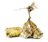 Ketupat or packed rice dumpling
