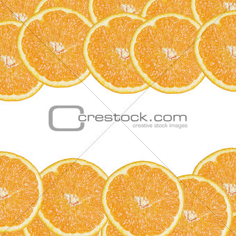 background from orange slices