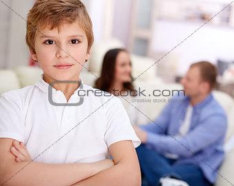 Boy at home