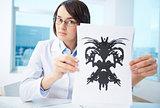 Presenting Rorschach inkblot