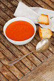 Cold gazpacho