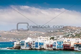 houses of island Mykonos