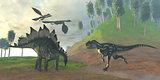 Allosaurus Hunt