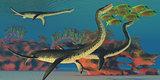 Undersea Plesiosaurus