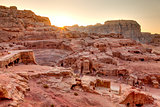 Sunset at Petra