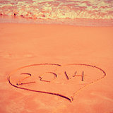 2014 on the beach