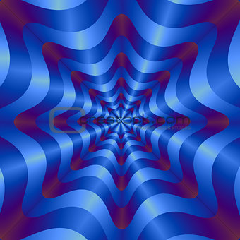 Blue and Purple Swirl