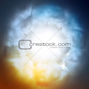 Abstract background, the divine sky, vector Eps10 illustration.