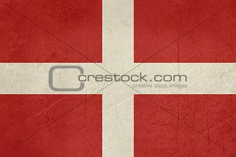 Grunge city of Como flag