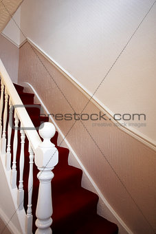 Stairs in traditional house