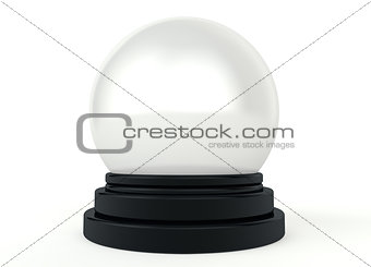 3d magic crystal ball