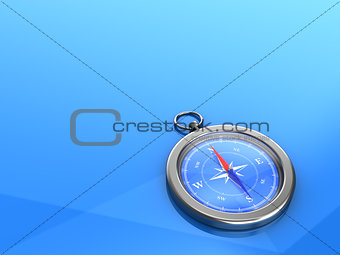 3d backgrounds with a compass