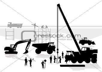 bridge and road construction
