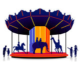children carrousel